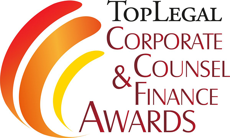 Omnia sponsor dei Toplegal Corporate Counsel & Finance Awards